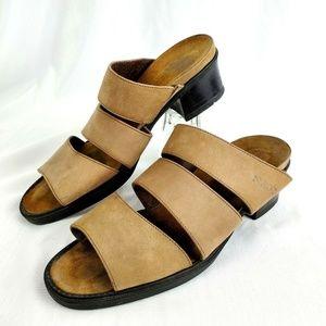 Naot Shoes Leather Sandles Slides Slip